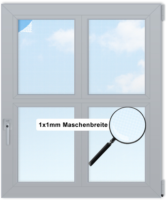 fliegengitter insektenschutz meterware rollo fenster ebay. Black Bedroom Furniture Sets. Home Design Ideas